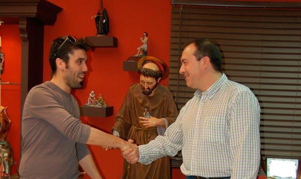 Acuerdo de colaboración con el artesano Joaquín Pérez