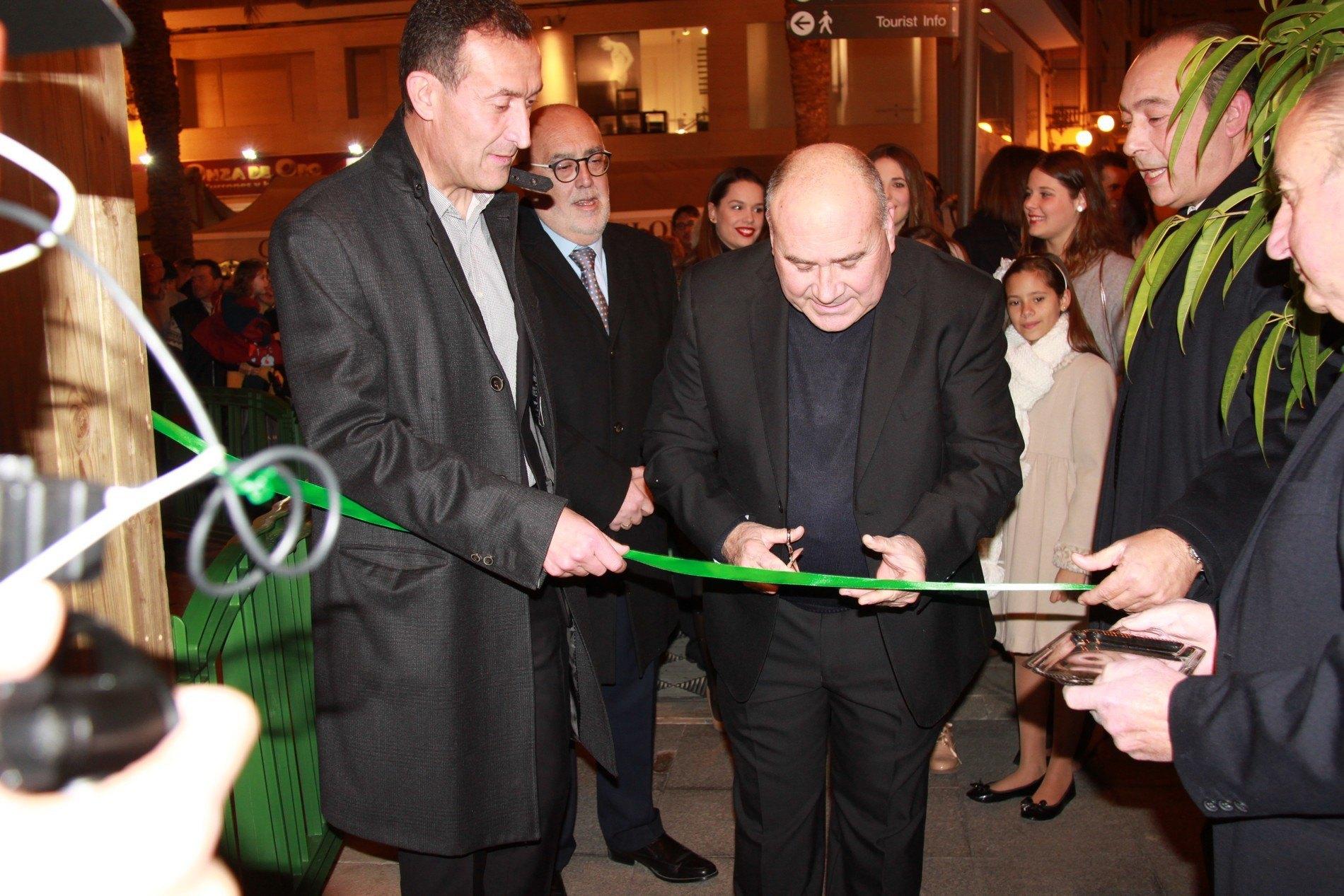 inauguración Belen-Glorieta