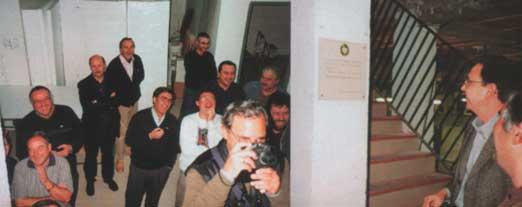 Inauguración de la primera Sede Social - 2000