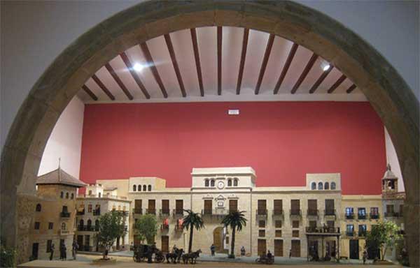 Detalle de Belén expuesto en la Lonja del Ayuntamiento - 2011
